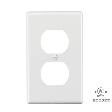 Fireproof Plastic Wall Receptacle Plate
