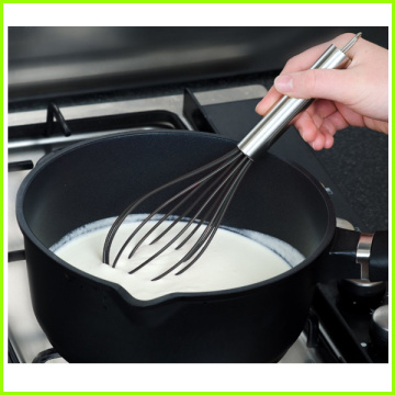 Excellent quality for for Kitchen Whisk Heat Resistant Non-Stick Silicone Egg beater supply to Belgium Factory