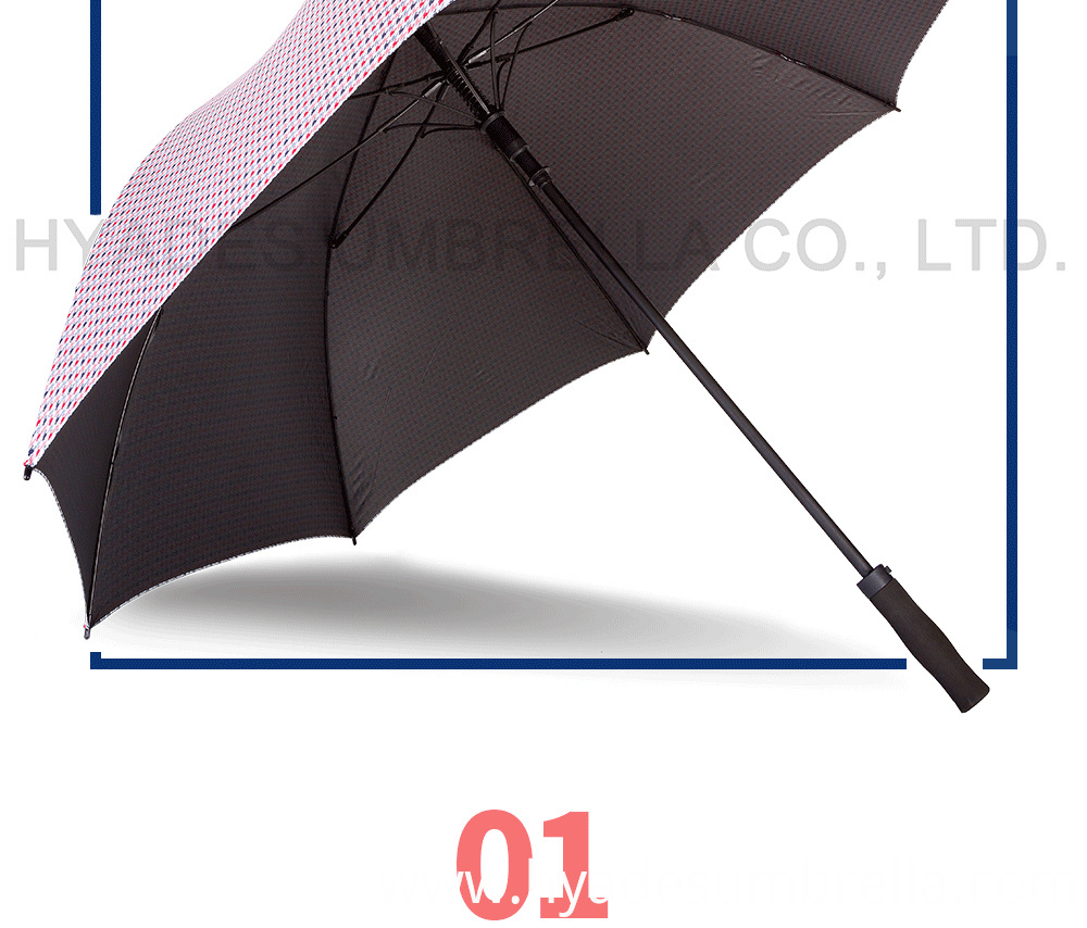 Auto Open Golf Umbrella UV blocking-