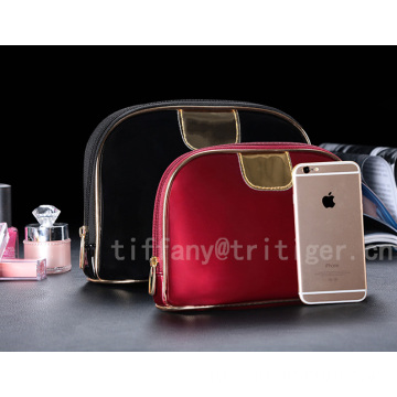 Travel Cosmetic Bag PU Cosmetic Bag Printed Makeup Bag