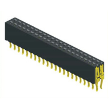 Big discounting for Pcb Connector 1.27mm Female Header Dual Row Straddle Type supply to Bhutan Exporter