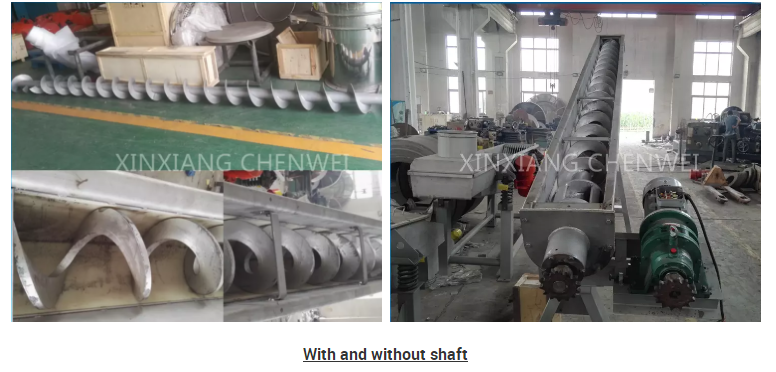 Low Noise Screw Conveyor