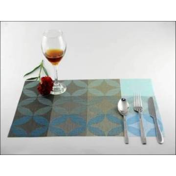 new flower PVC eat mat decoration cushion