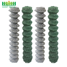 PVC coated galvanized chain wire mesh fence