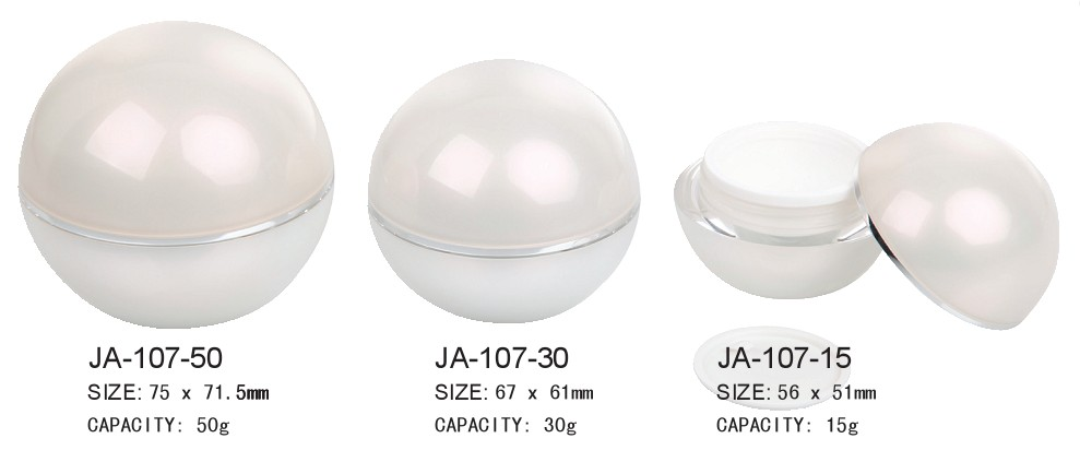 Ball Shape Cream Jar