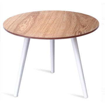 Modern Wooden Tea Table Round Models