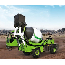 3.6 M3 self loading mobile concrete mixer truck