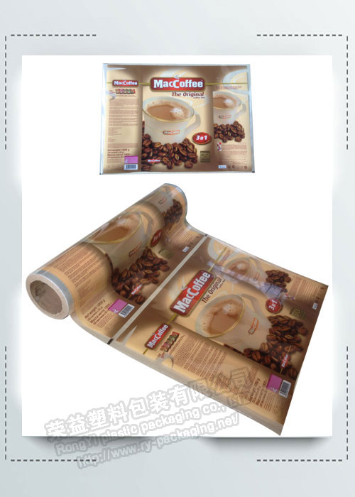 Coffee Roll Film Packing