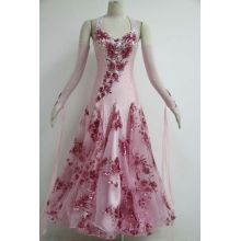 ODM for Ladies Ballroom Prom Dress Pink ballroom dresses  plus size for girls export to Benin Importers