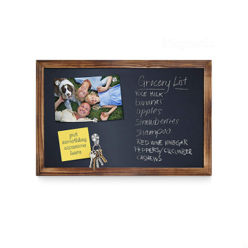 China Professional Supplier Wholesale 11*17Inch Restaurant Wood Blackboard