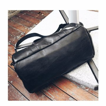 Fashionable pu sports fitness travel bag