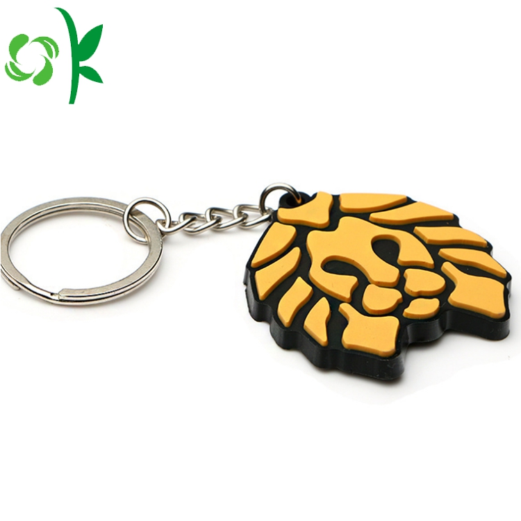 Cool Silicone Keychain