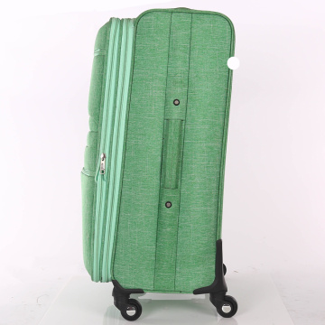 Brand name character 4 wheel luggage travel bag