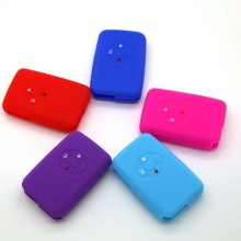 Silicone replacement car key fob case for Carolla