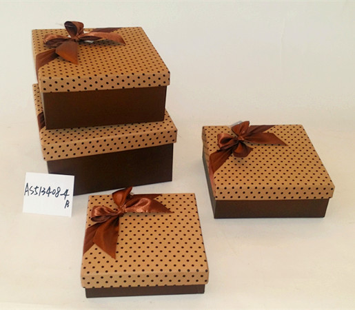 Packing factory fancy valentine gift box