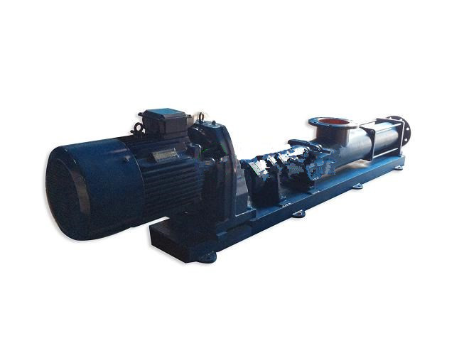 G type shaft stainless steel screw pump