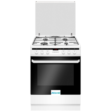 Electric Cooker With Gas Hob White Kitchen Electricals