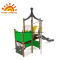 Green Outdoor Playground Equipment HPL For Sale