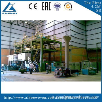 automatic non woven fabrics making machinery with good service