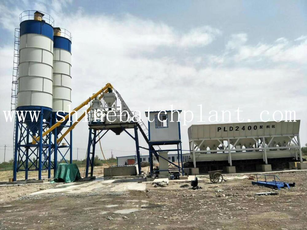 60 High Concrete Batching Plant