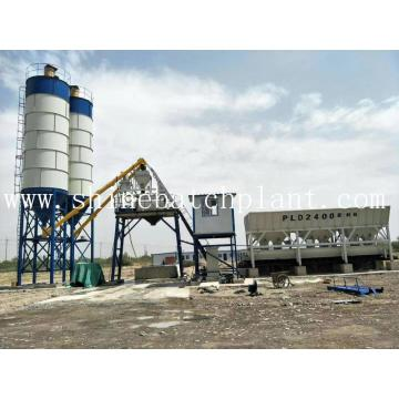 Indonesia Concrete Batch Mix Plant For Sale
