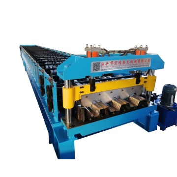 Steel Building Steel Floor Deck Macking Machine