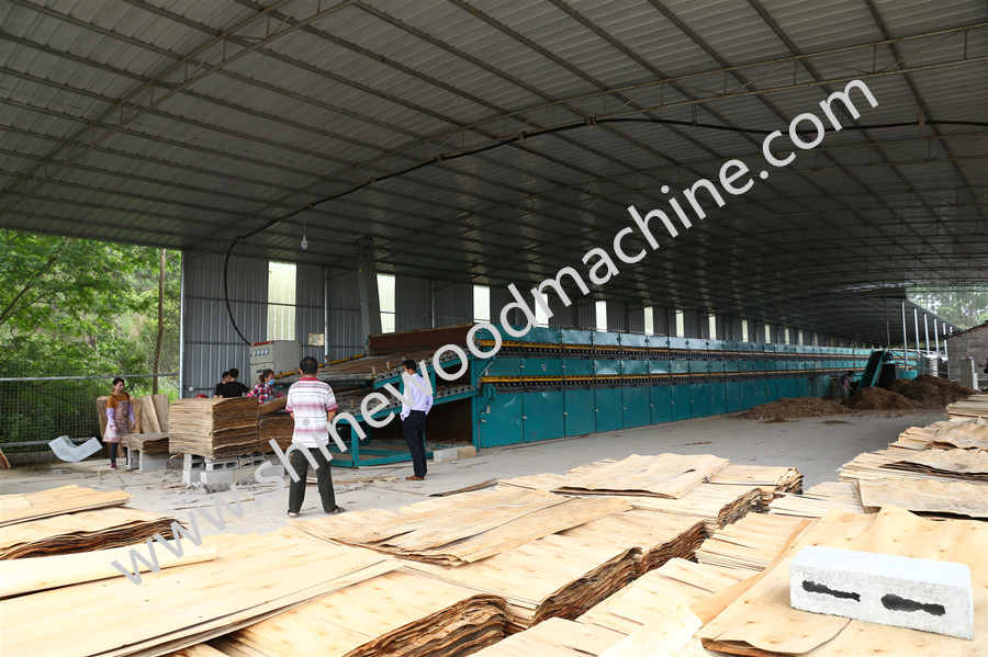 Plywood Veneer Dryer Machine