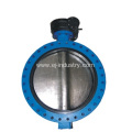 Flanged End  Butterfly Valve
