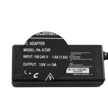 Toshiba UK plug 15V 5A AC Power Adapter