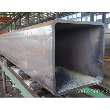 Welded rectangular carbon steel pipes