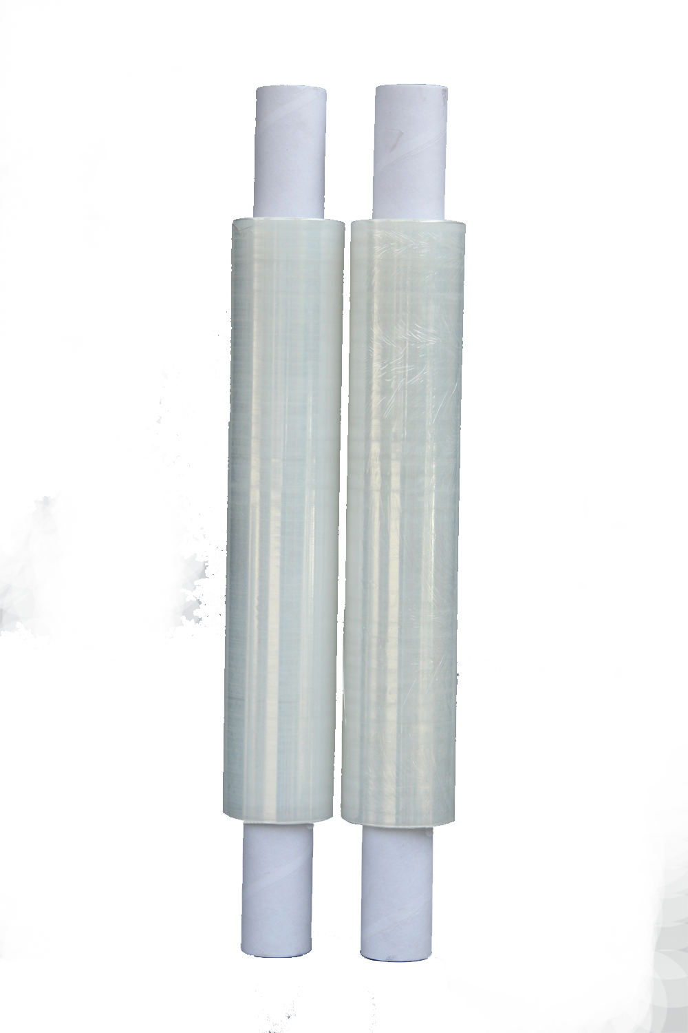 Clear Stretch Shrink Cling Film Pallet Wrap With Extended Cores 400mm x 300m