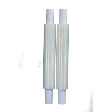 Hand held extended core pallet wrap lldpe stretch film roll