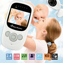Wireless Childcare Baby Monitor with Radio Signal