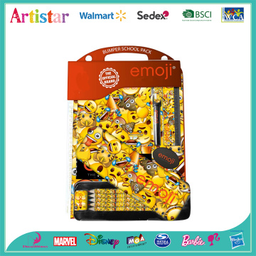 EMOJI stationery double blister card set