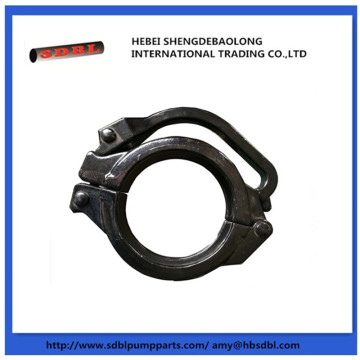 Conforms concrete pump adjustable clamp coupling