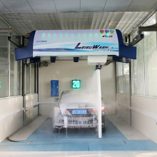 High pressure touchless drive through car wash