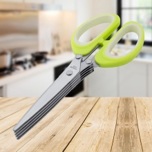 5 Blades Chopped Kitchen Spring Onion Scissors