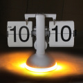 Lighted Table Clock Flip Clock Font Custom Made