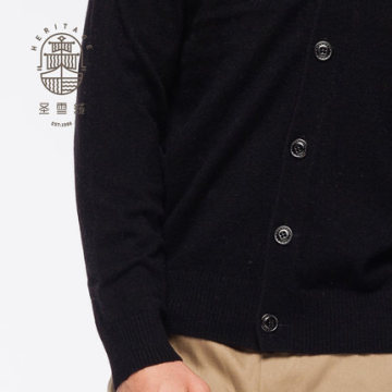 Men's Cashmere V Neck Cardigan