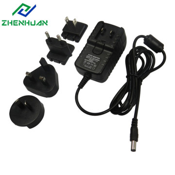 24V 500ma 12w Constant voltage interchangeable AC adapters