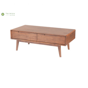 Contemporary Dark Walnut TV Stand Storage Cabinet