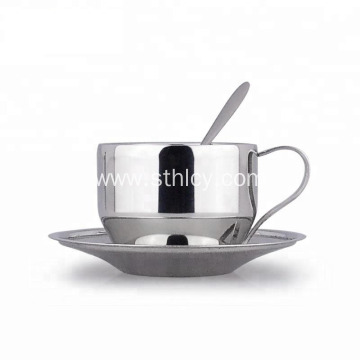 Best Stainless Steel Coffee Cup Saucer Set