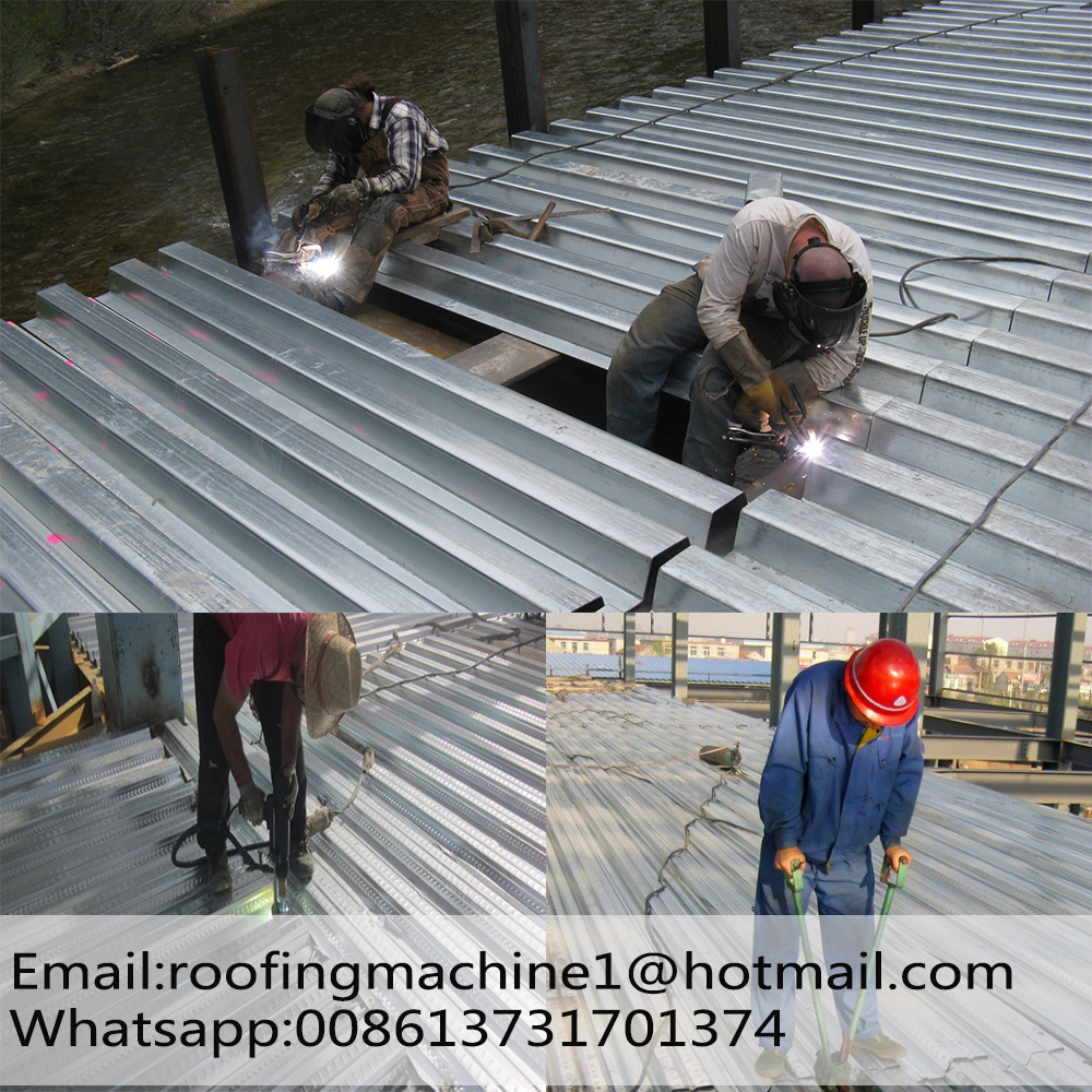 application of floor deck panel