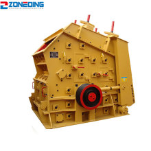 European type rock stone ore impact crusher plant