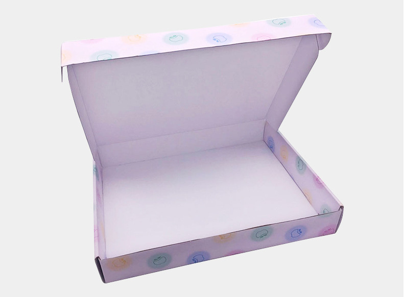Custom apparel shipping packaging box