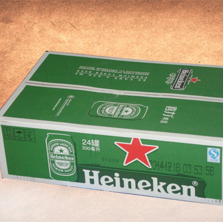 Best Sell Moistureproof Corrugated Beer Packaging Box