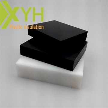 Black / White Acetal Copolymer Plastic Sheet