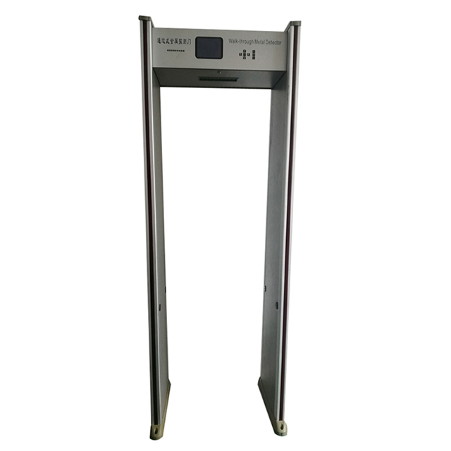 temperature walk through metal detector
