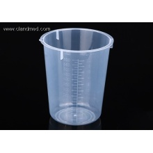 100% Original Factory for Plastic Graduated Cylinder Plastic Beaker 600ml export to Antigua and Barbuda Manufacturers
