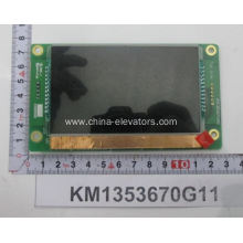 KONE STNLCD LCI LCD Display Board KM1353670G11